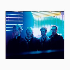 Coldplay, signierter Druck in limitierter Auflage, 2020