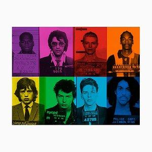 Fun Loving Criminals von Batik, signierte Limitierte Pop Art, 2020
