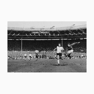 1966 WM Finale, Silbergelatine Faser Druck, 1966, später gedruckt