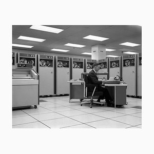 Programmatore, Stampa gelatinosa argentata, 1964, Printed Later