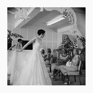 Exclusive Fashions, Extra Large Limited Estate Stamped Print, 1955, Printed Later