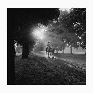 Hyde Park, Silver Gelatin Fibre Print, 1956