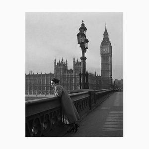 Elizabeth Taylor en Londres, Silver Gelatin Fiber Print, 1948, impreso más tarde