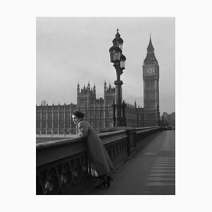 Elizabeth Taylor in London, Kunstdruck aus Silbergelatine, 1948, Spätere Druckversion