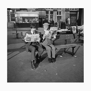 Steptoe and A Beatle, Silver Gelatin Fibre Print, Paul Mccartney, 1964
