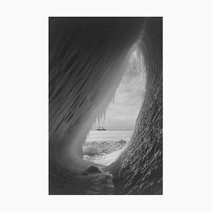 Ice Cavern, Oversize Pigment Pigment Print, 1910, Spätere Druckversion