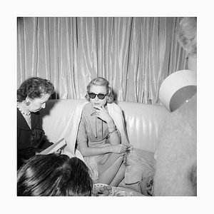 Entretien Interviewing Grace, 1956, Silver Grainatin Fiber Print, 1954