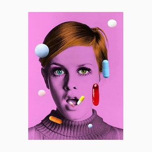 Affiche The Pops Drugs Do not Work II, Édition Popup Edition Limitée, Taille Haute, de Twiggy, 2021