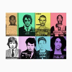 Stampa Pop Art stampata, Batik, Fun Loving Criminals II, edizione limitata, 2021