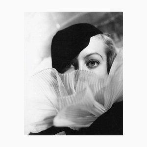 Stampa Joan Crawford, argento, 1933/2020