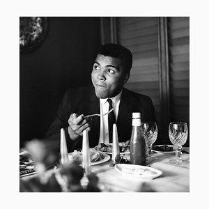 Muhammad Ali, 1950er Silbergelatine Druck, 1965