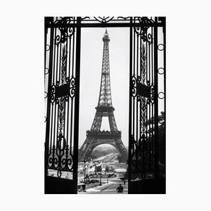 The Eiffel Tower, Oversized Silver Gelatin Fibre Print, 1929, Printed Later
