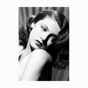Lana Turner, Druck aus Silberfarbener Gelatine, Überdimensioniert, 2020