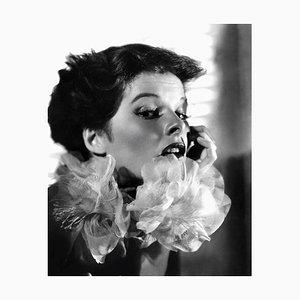 Stampa Katharine Hepburn, argento, 1937, Printed Later