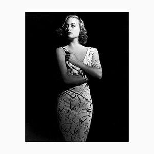 Stampa Joan Crawford, argento, 2020