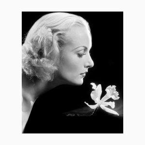 Impresión de fibra de plata y gelatina Carole Lombard, 1932, impresa después