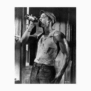 Impresión de fibra de plata y gelatina de Brando As Stanley, 1951, impresa después