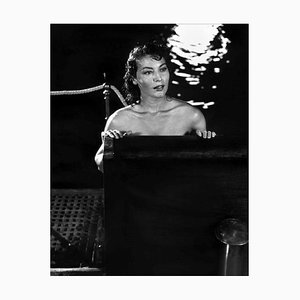 Stampa Ava Gardner, argento, 1951