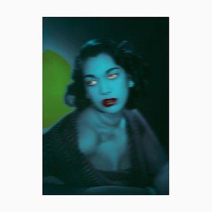 Blue Girl - edición limitada de gran tamaño - Pop Art 2020