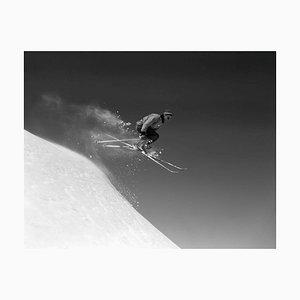 Skispringen, Druck aus Silbergelatine Faser - übergroß 1964, später bedruckt