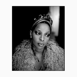 Mary J Blige, Signed Limited Edition Print, 2004, 2020