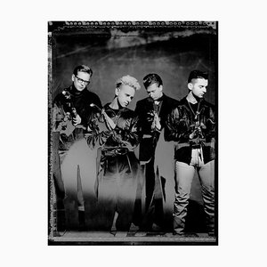 Depeche Mode, Signed Limited Edition Oversized Print, 2020
