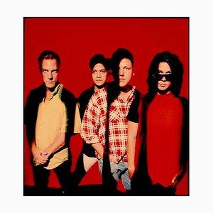 Grand Imprimé Pixies, Limited Edition Signée, 1990, 2020