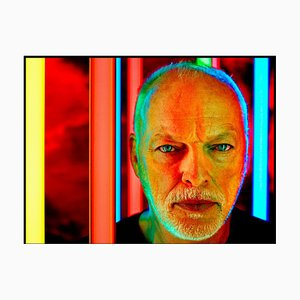 David Gilmour, Signed Limited Edition Oversized Print, 2020