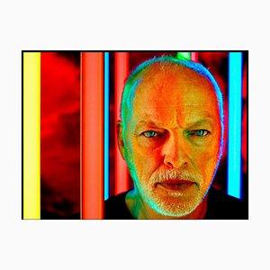 David Gilmour, signierter limitierter Druck, 2020