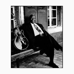 B. B. King, Signed Limited Edition Print, 2020