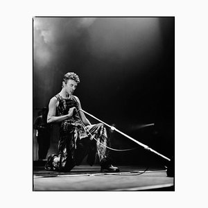 Bowie on Stage - Oversize Signed Limited Edition Print, 2020