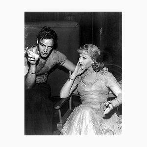 Marlon Brando & Vivien Leigh Smoking On-Set, 1951