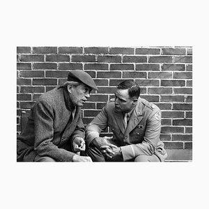 Huston & Brando on Set, Silbergelatine Druck, 1967