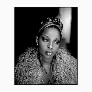 Mary J. Blige, signierter Oversize Druck, 1996