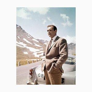 James Bond 007 Sean Connery sul set in Scozia, 1964
