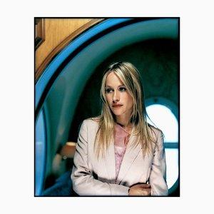 Patricia Arquette, signierter Oversize Druck, 2001, 2020