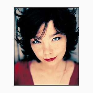 Stampa Portrait of Bjork, Signed Limited Edition, 1998