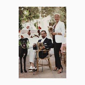 Affiche Count and Comtesse, Jaime De Mora Y Aragon, Slim Aarons, Imprimé Estate, 1980