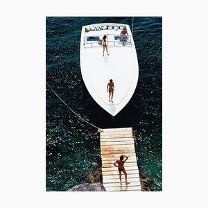 Speedboat Landing, Slim Aarons, Estate Edition, 1973