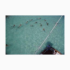 Swimming in Bermuda, Slim Aarons, Estate Edition, 1977