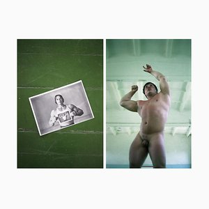 Schwarzenegger is My Idol, 1 Limited Edition, Hahnemühle Rag Baryta Print, 2012