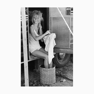 Brigitte Bardot Silver Gelatin Print, 1965