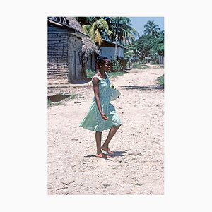 Hondurianisches Mädchen, Oversize C Type Print, Limitierte Auflage, 1978