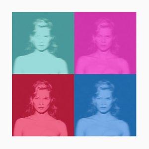 Kate IV, Oversize Limited Edition, Kate Moss Pop Art, 2020