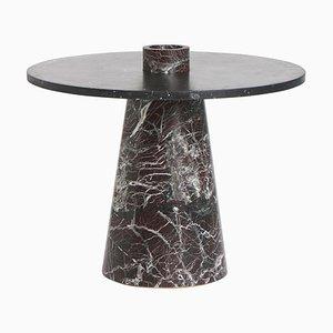 Red Inside Out Table Set by Karen Chekerdjian