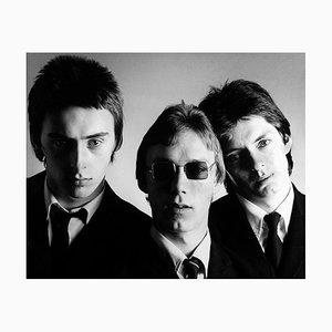 The Jam, Paul Weller, firmado, edición limitada, 1977
