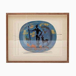 Print from Céramiques De Picasso