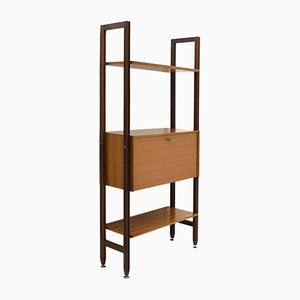 Bookcase with Wooden Uprights from Faram, 1960s