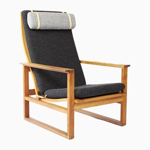 Danish Model 2254 Lounge Chair by Borge Mogensen for Fredericia, 1960s