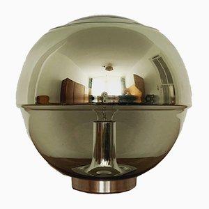 Große Glas Tischlampe von Peill & Putzler, 1960er